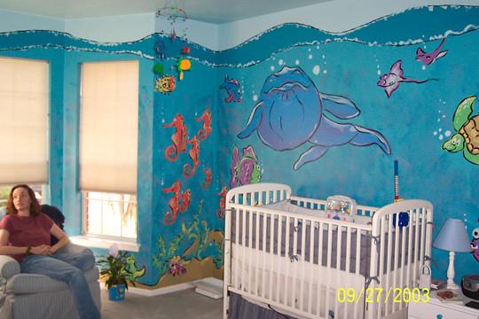 Nursery Murals A Gallery On Flickr
