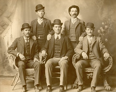 Butch Cassidy's Wild Bunch, 1901 (most successful train robbing gang in history)