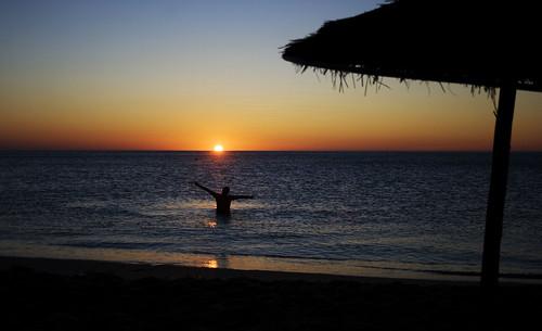 sea sun beach sunrise canon eos happiness morocco rise tetouan 400d