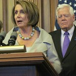 Pelosi Standing Alongside House Democrats After Vote To Extend Unemployment Benefits
