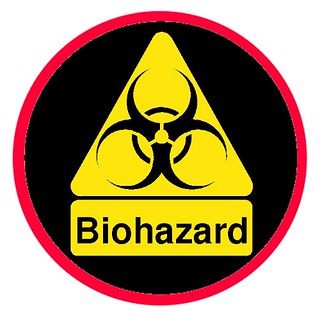 Biohazard badge
