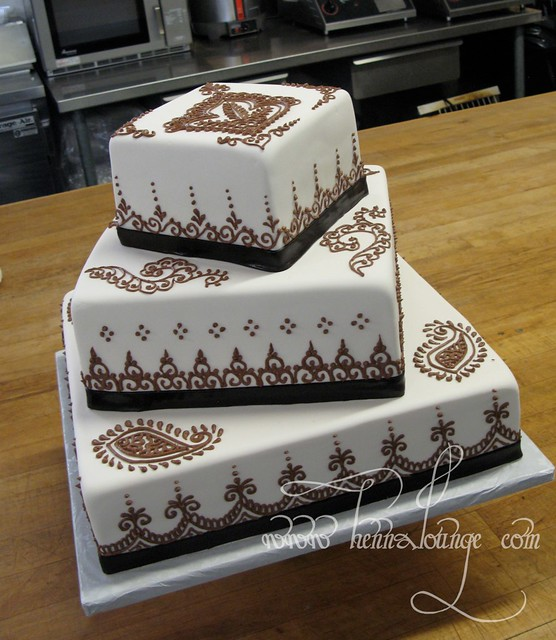 Mehndi Cake Qc : Henna cake for a wedding flickr photo sharing