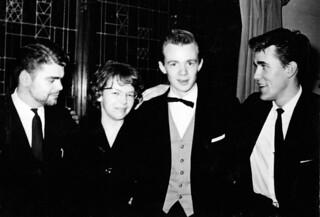 Første styret i Islandsforeningen Kjartan (1963)