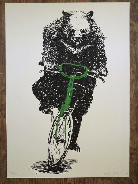 Holy SHIT- This Bear Is RIDING a Bicycle