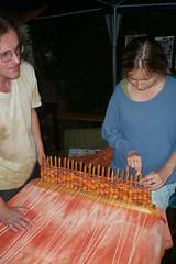 carving(0.0), food(0.0), dish(0.0), art(1.0), weaving(1.0), cuisine(1.0),