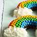 Double Rainbow Malt Cake