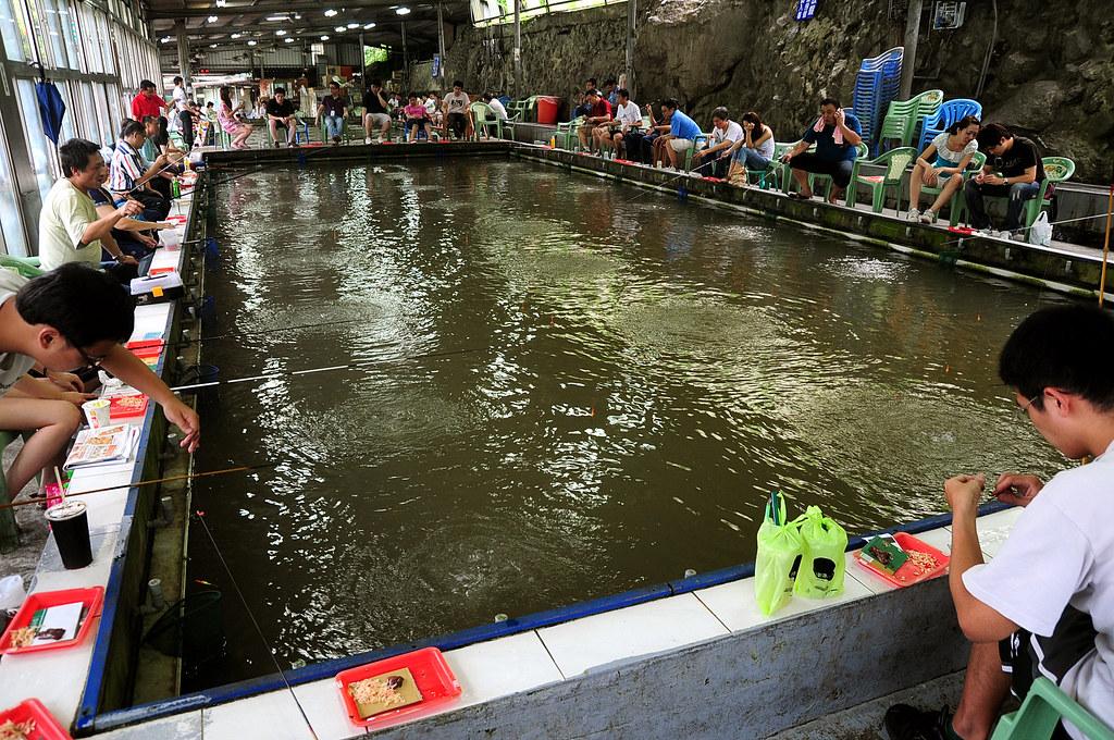 外雙溪‧車輪釣蝦場