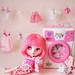 pink spewing washing machin by launshae