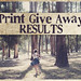 PRINT GIVE AWAY - RESULTS by Ana Luísa Pinto [Luminous Photography]