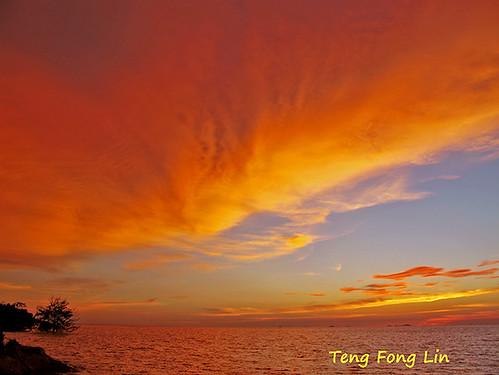 sunset phoenix landscape scenery muar tanjungemas tanjungketapang mygearandme