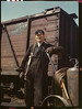 Depression Railroad Man