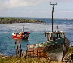 Fishing Boat - Portnahaven