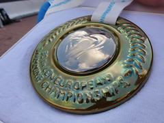 Pál Joensen's 1500 freestyle silver medal from Budapest 2010