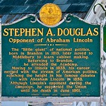 Stephen A. Douglas Birthplace (1813) – State Historic Marker