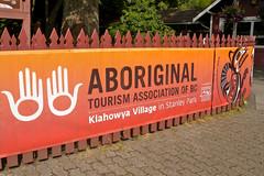 Klahowya Village in Stanley Park