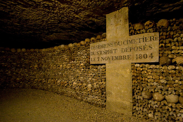 Paris Catacombs Tour Exit