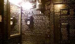 The bathroom in Paddy Malones