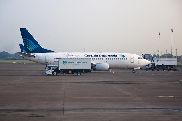 Garuda Indonesia B737