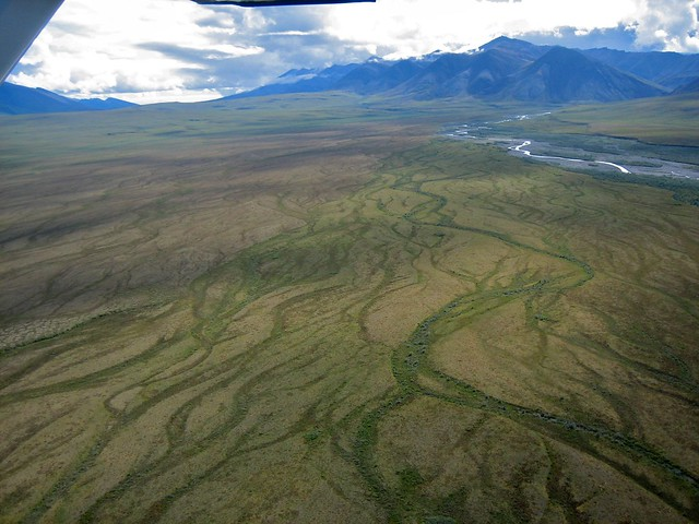 Riverbeds, Mountains and Tundra