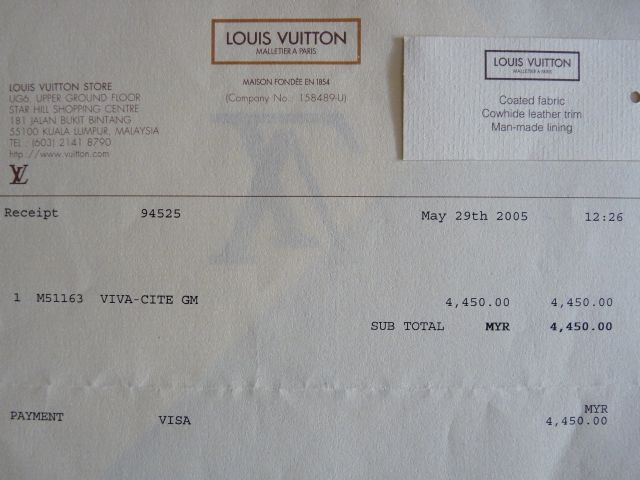 louis vuitton receipt template maker 28 images louis vuitton e