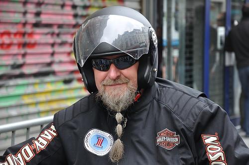 Harley Davidson rijder - Harley Davidson rider (6)