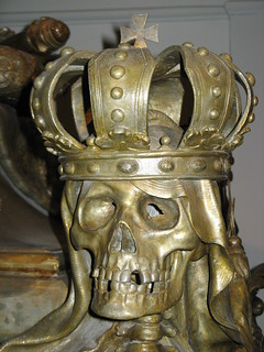 Detail Sarkophag Kaiser Karl VI (HRR)