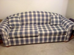 textile, furniture, brown, sofa bed, couch, studio couch, cushion,