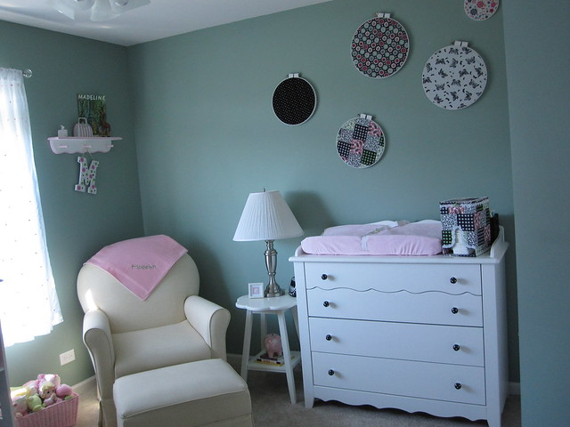 Nursery-Rocker and Changing Table