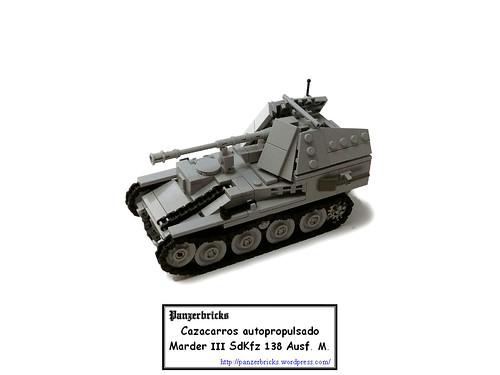 Marder III Ausf. M SdKfz 138 de Panzerbricks
