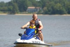 Riding the Jet Ski