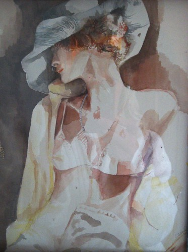 Figure in watercolours