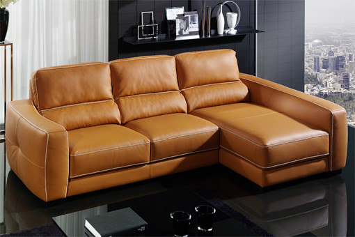 Photo for Sofas de piel con chaise longue