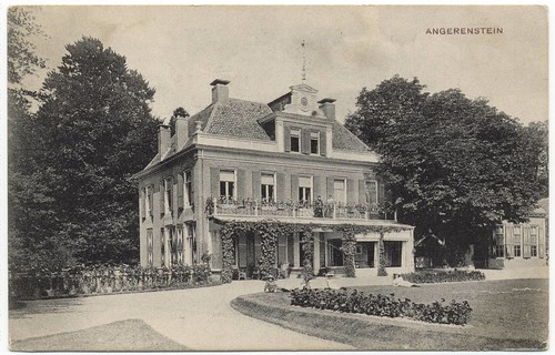 Huis Angerenstein rond 1900