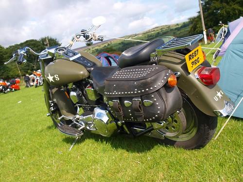 Harley Davidson Army Bikes