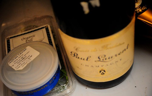 Champagne and Caviar for One