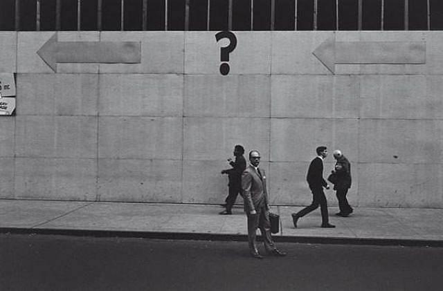 New York 1962, by Lee Friedlander