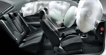 安全的车身结构,安全带