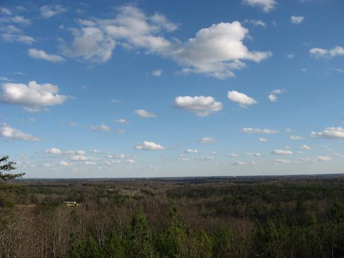 clouds view southcarolina upstate escarpment viewshed highlandshighway