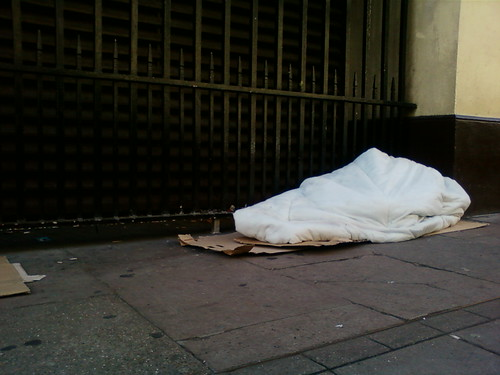 Homeless Rough Sleeper