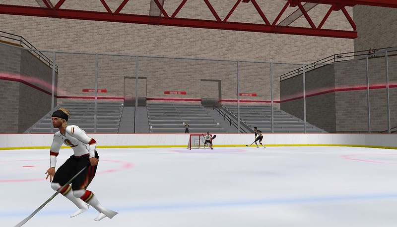 GOHA for ice hockey in second life