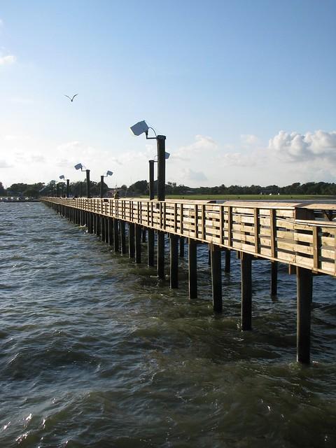 Sylvan beach fishing pier galveston bay flickr photo for Galveston pier fishing