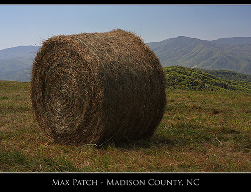 mountains rural landscape nc farm farming bald northcarolina hay appalachian bales maxpatch
