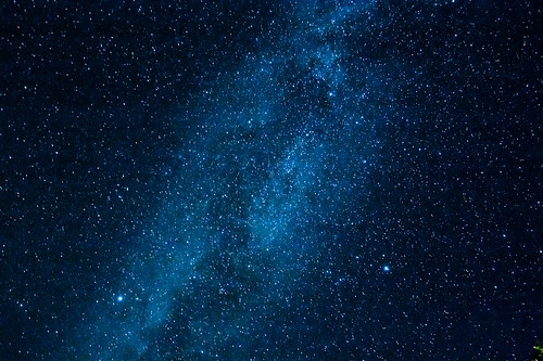 Vega, Altair and Deneb, The Summer Triangle and the Milky way