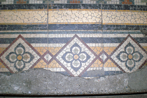 Tiled floors need protection or they can be damaged during building works