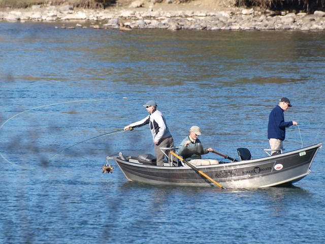 drift boat fly fishing flickr photo sharing