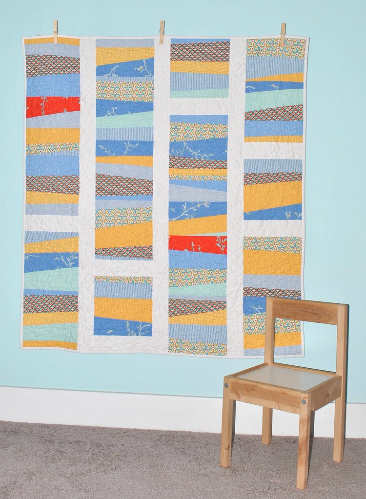 City Weekend Baby Boy Quilt