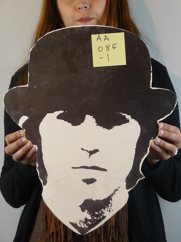 The Beatles Head Masks George
