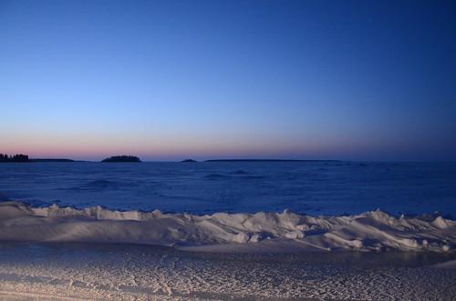 winter sunset snow cold ice nature suomi finland nikon ruotsalo d7000 13022011 sirwili iltaajelu