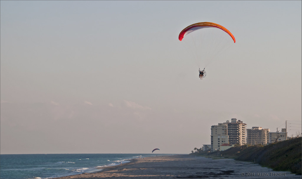Ultralight Aviation at Juno Beach
