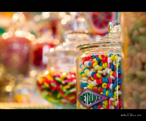 Honeydukes Candy Bokeh